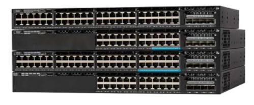 What are the contrasts between the Cisco 3650X and 3750X switches?